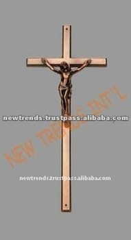 Brass Antique Cross