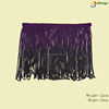 100% Rayon / polyester multicolored tassel fringe trim for scarf
