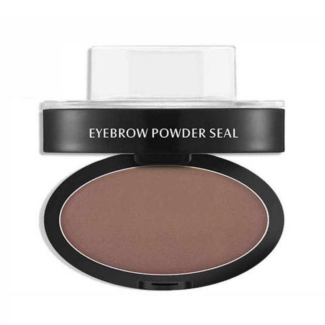Eyebrow Powder,SMTSMT 2017 Brow Stamp Powder Delicated Natural Eyebrow Powder (Coffee)
