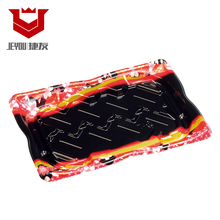 Custom colour Printed Plate sushi plastic food Tray