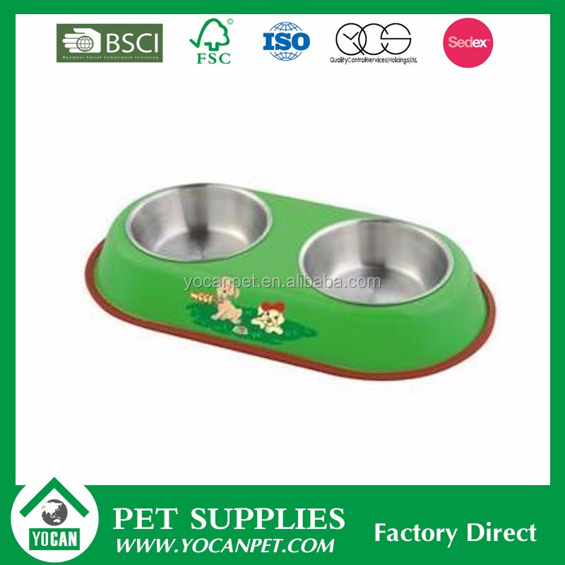 Stocked Different kinds of plastic pet water bowl