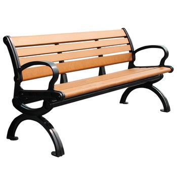 Wood Slats For Cast Iron Park Bench Design