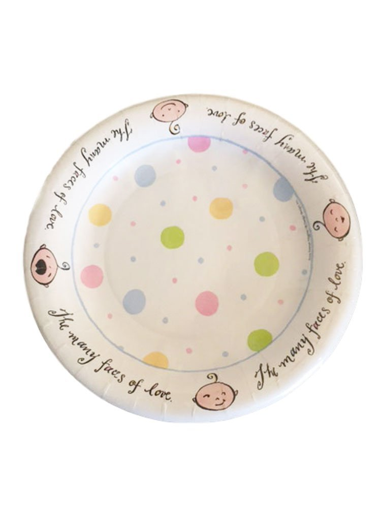 Get Quotations · Design Design Baby Faces Pastel Color Polka Dots Dessert Paper Plates 8 ct.  sc 1 st  Shopping Guide - Alibaba & Cheap Baby Design Paper find Baby Design Paper deals on line at ...