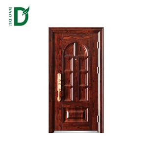 Indian Main Security Turkey Steel Door Exterior Safety Door