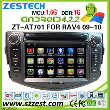 ZESTECH latest Android 4.2.2 car dvd for Toyota RAV4 car dvd year for 2006 2007 2008 2009 2010 2011 2012