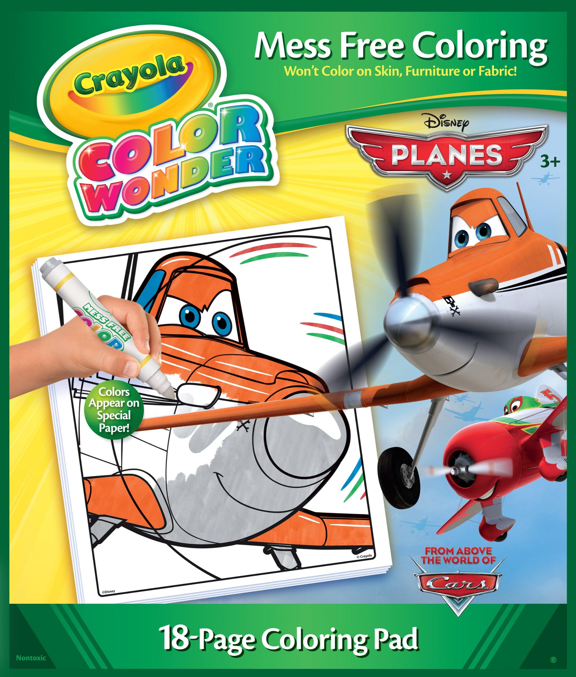 Buy Crayola Color Wonder Disney Cars Coloring Pad, 12-Page in Cheap ...