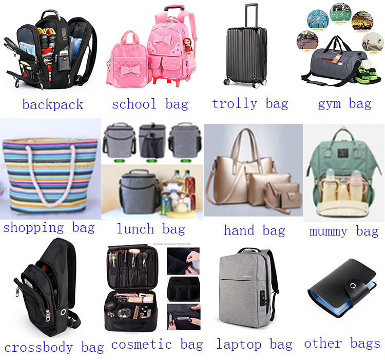 2018 new design wholesale unicorn baby diaper bag, outdoor stroller waterproof travel mommy bag