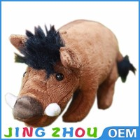 2015 promotion plush toys stuffed pig plush boar for sale