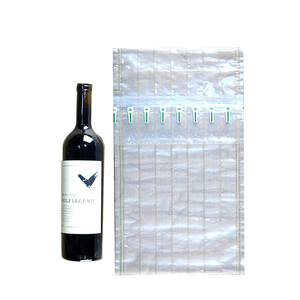 Inflatable Shockproof Air Cushion Column Bag For Red Wine Bottle Protector PE Filled Manufacture Enviironmental