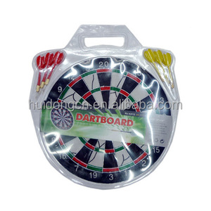 12 Inch Dart board Dart Disk Indoor Toys Promotional Gifts Classical bristle dartboard with 4 darts for wholesale