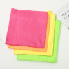 Europe market thick elegant waffle cleaning towel microfiber kitchen drying cloth