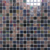 Home decor for bedroom kitchen hot melt glass mosaic swimming pool tiles interior mosaics