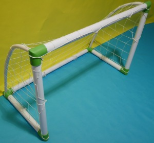 Portable Football Goal Plastic Soccer Goals Mini Portable PVC Football Goals