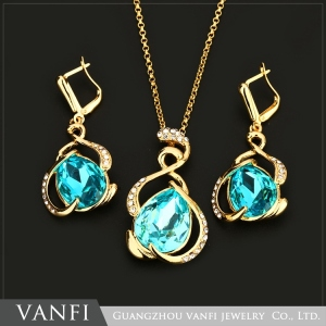 Good reputation Low price Wholesale earrings necklace jewelry set