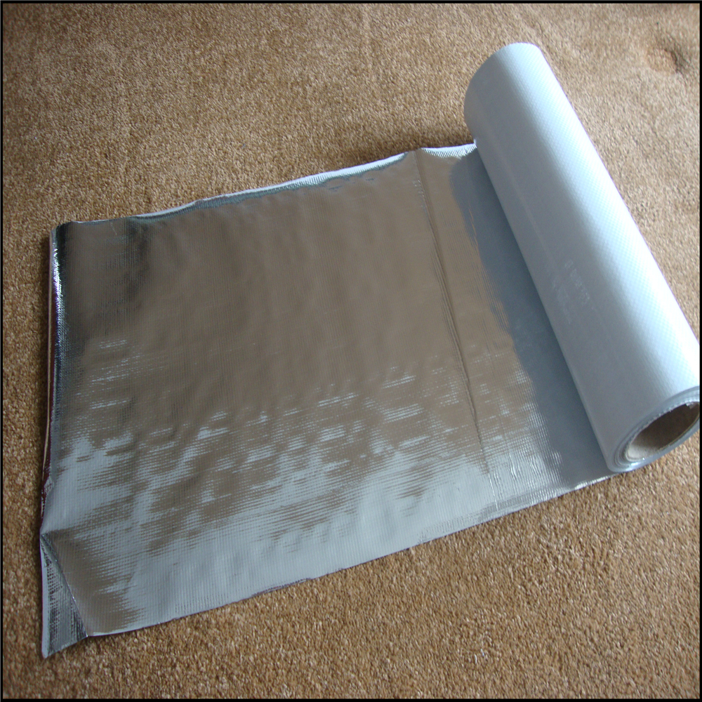 Aluminum Foil Radiant Barrier Woven Fabric For Heat