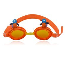 soft silicone funny cartoon kids swim goggles customer design swimming goggles anti fog