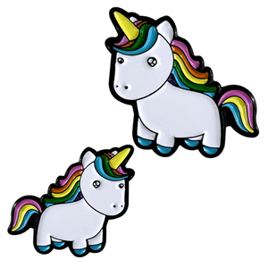 Customized colorful soft enamel pin unicorn lapel pin/metal unicorn pin badge with nice quality