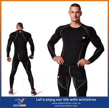 c5b39943a3acc sports wear fitness wear mens compression apparel custom compression wear
