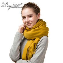Palestine Extra Long Warm Hair Scarf Pure Cashmere Loop Thicken Scarf With Tassel