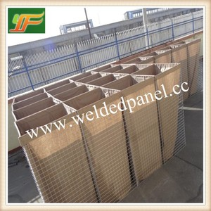 China supplies military anti blast defensive barrier/hesco barriers sizes and prices multi-cellular system