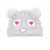 100% acrylic embroidered cute baby knit beanie hat