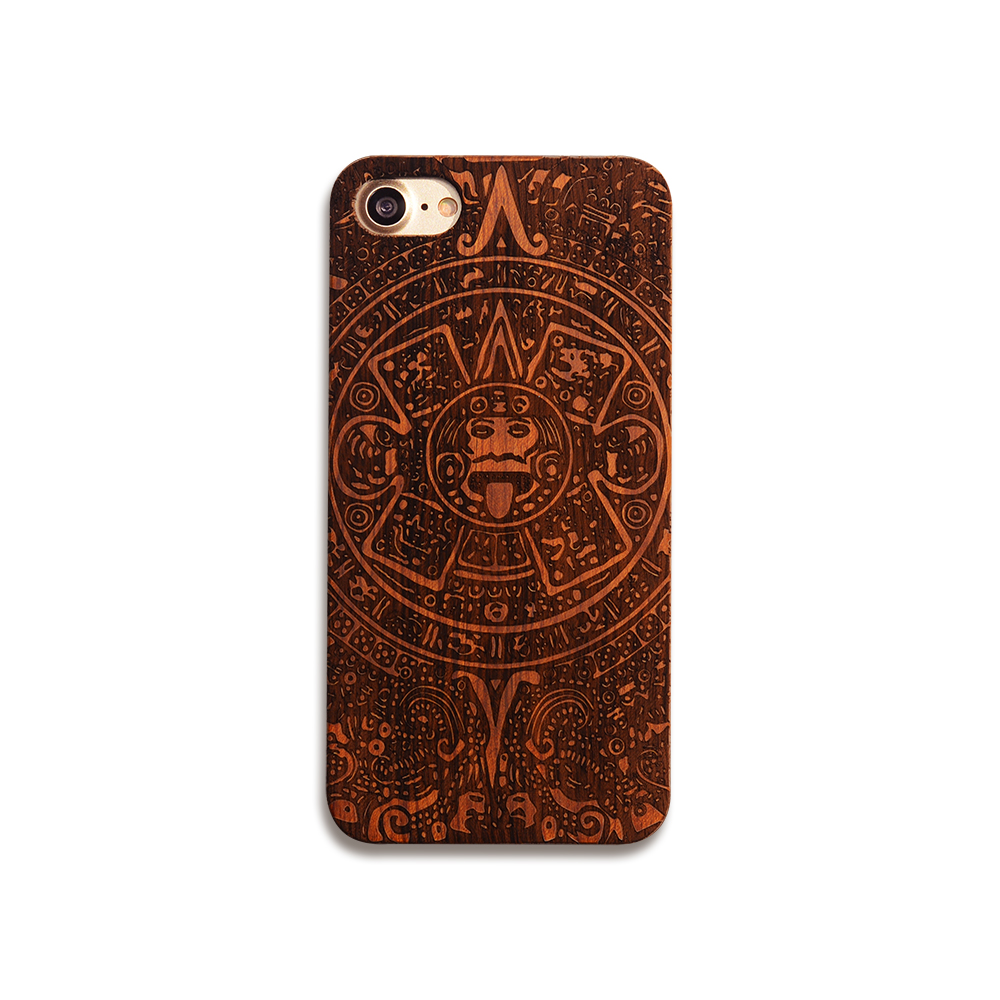 High Quality Handmade Real Wood Phone Case Unique Cell Case For iPhone 7 7plus 8 8s 8plus