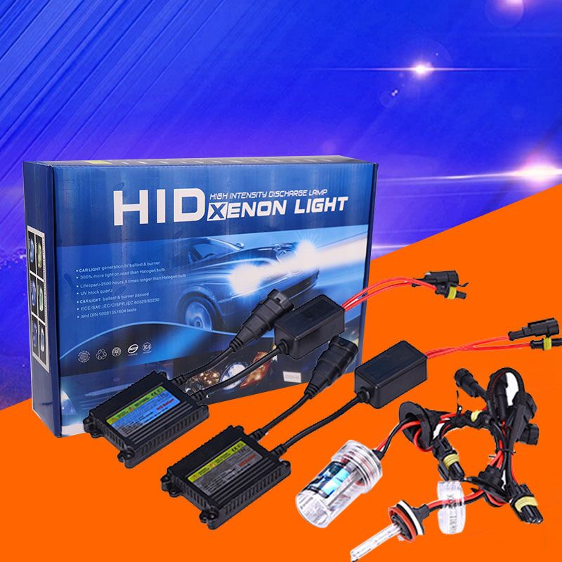 35w 55w HID Xenon Kit High Quality H7 H11B h4 hi/lo 9005 9007 3000K 5000K HID Xenon Light for All Cars