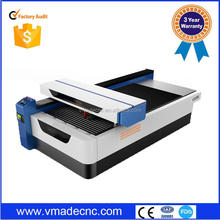 new double used for metal and non-metal cnc laser engraving machine