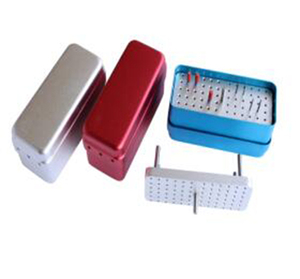 Dental 72-hole dual autoclavable Instruments box (Dual core)