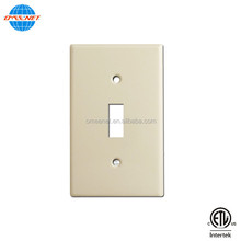 One Gang Light Switch Wall Cover Plate Face Plate