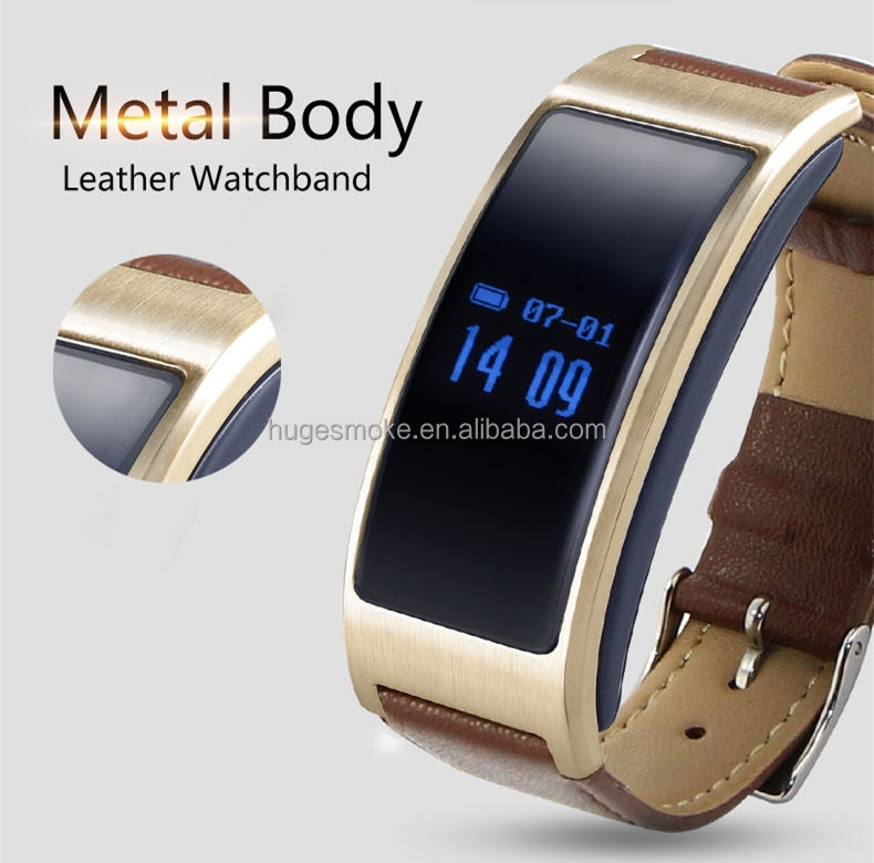 Touch screen smart bracelet K18 smart watch support hear rate, blood pressure measuring