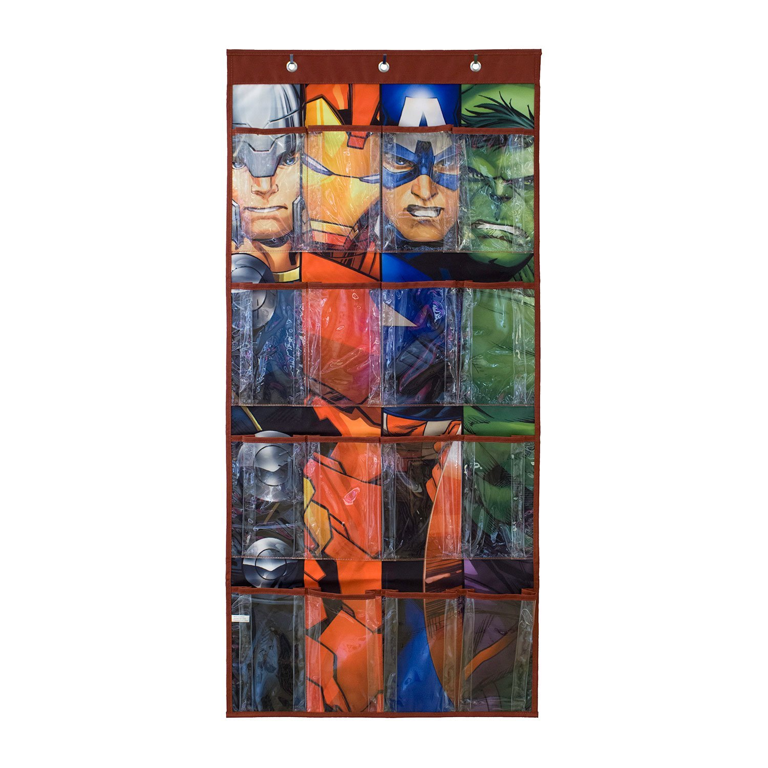 Get Quotations Avenger Shoe Organizer For Boy Shoes 16 Pocket Hanging Closet And