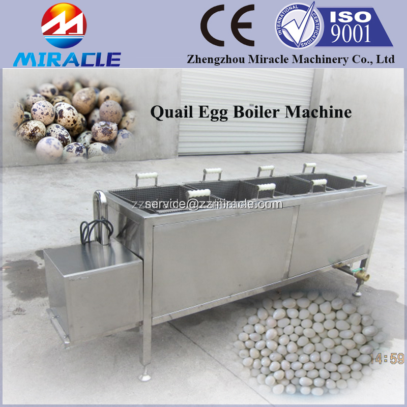 Quail egg process plant for food industry factory, boiled and shelled quail egg making machine