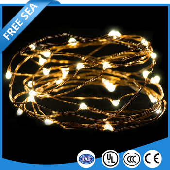Christmas Valentine's Decoration Solar LED Copper Wire Fairy String Light Waterproof Floral