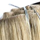 Top quality injected clip in hair extensions russian curly human hair extensions vendors