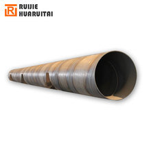 Outer Diameter 609mm*8mm*11.8m standard size spiral welding steel pipes, big size carbon steel line pipes