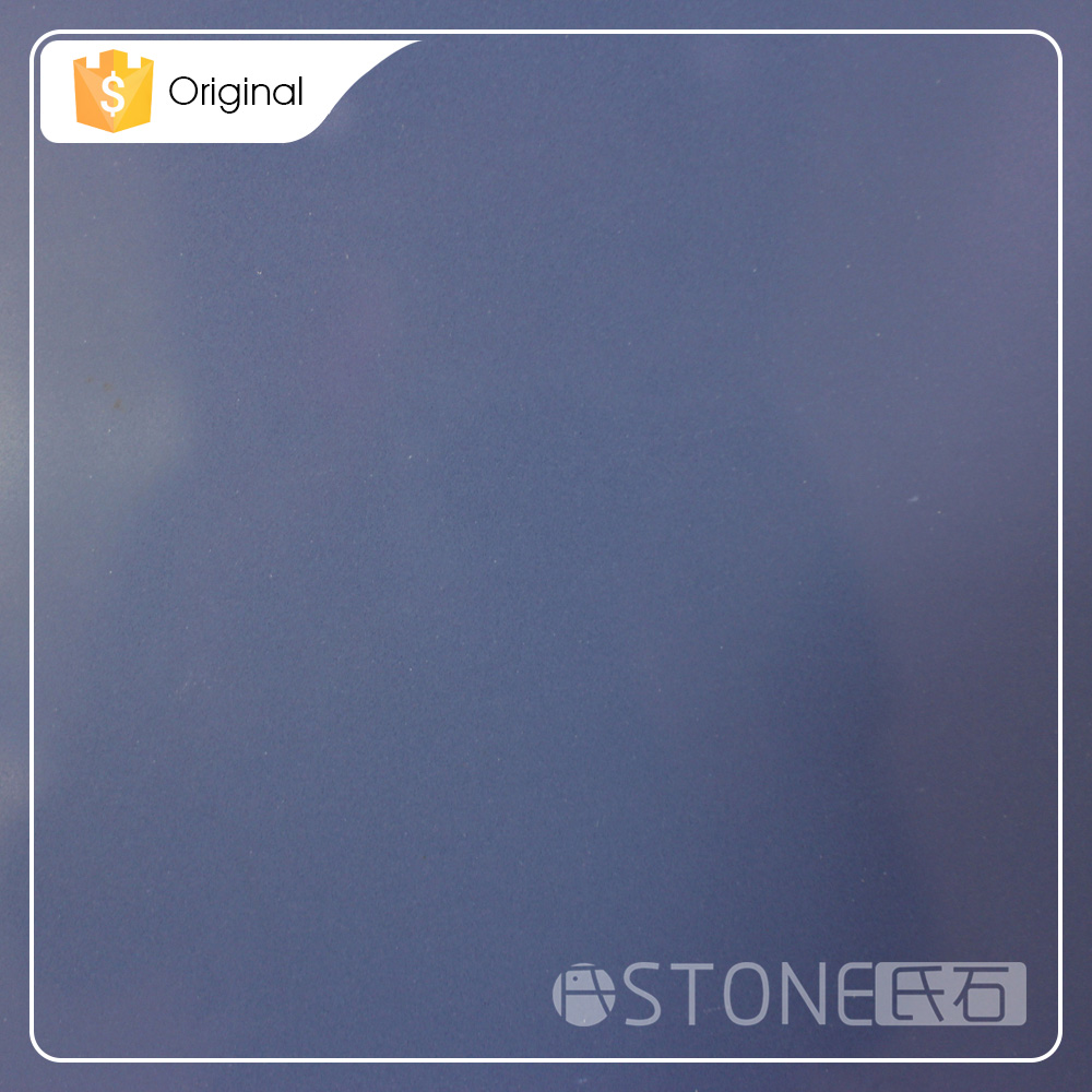 Made In China New Product Blue Color Synthetic Quartz