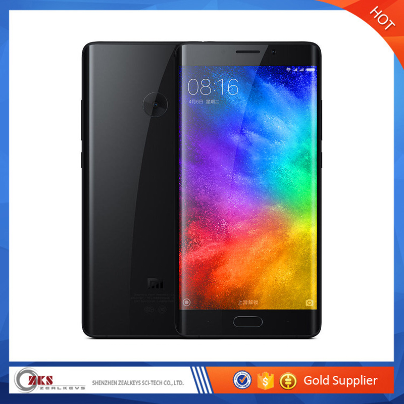 Xiaomi Mi Note 2 Snapdragon 821 Quad Core 4GM RAM 64GB ROM 22.56MP 5.7'' 4000mAh Card 4K Video Mobile Phones Note2 Black