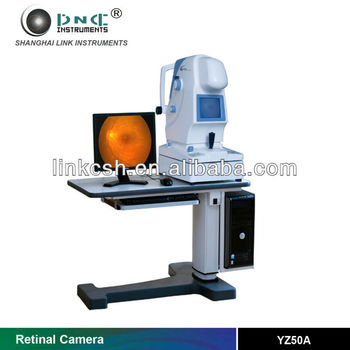 Eye Examination Equipment optical Non Mydriatic Retinal Camera YZ50A  ophthalmic equipment/Fundus fluorescence/CE,FDA approved, View China best  optical