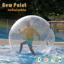 high quality Inflatable transparent water ball for fun