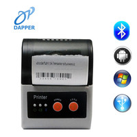 2 inch mini Portable Bluetooth mobile Thermal Printer support QR Code and Barcode