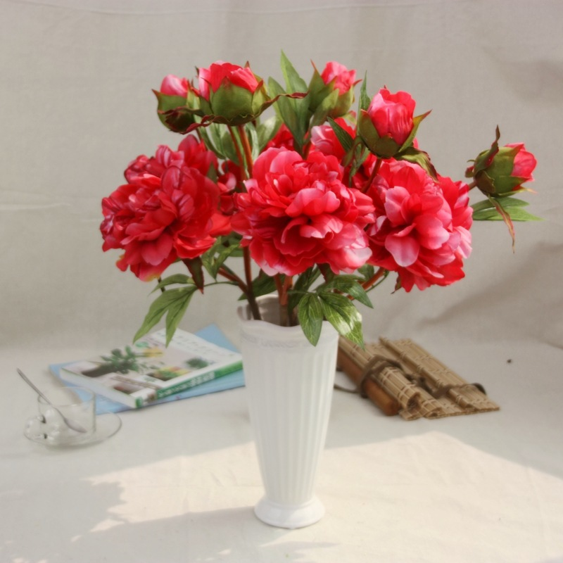High quality Hot Sale Different Design And Colour Artificial Mini Peony Flower artificial flowers