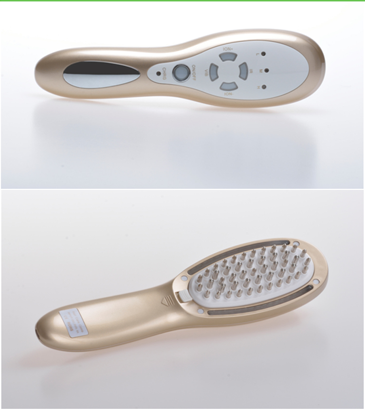 Hair care Hair growth beauty star hair straightener brush led light therapy comb