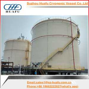 Large sized LNG cryogenic storage tank