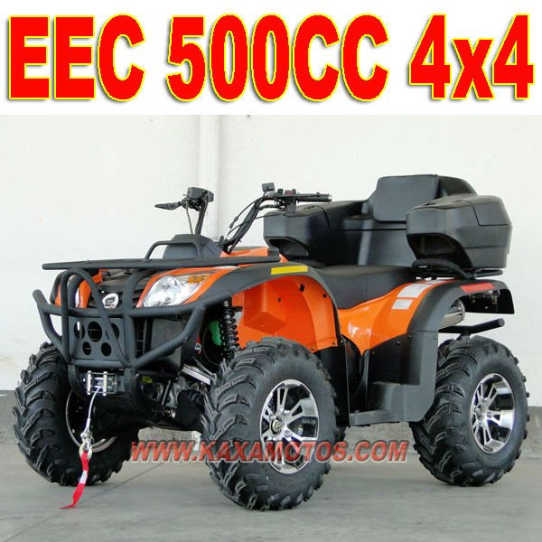 500cc 4x4 China Atv