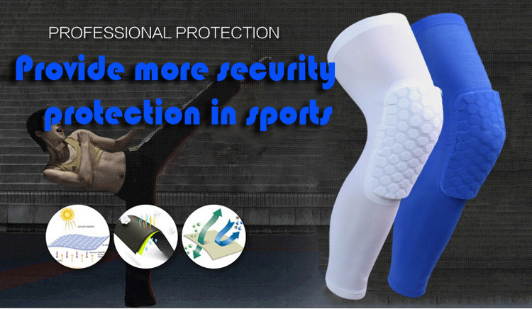 Polyamide Fabric High Elasticity Knee Pads Leg Protecter Sports Protective Gear