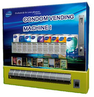Manufacturer custom mini durex condom vending machine for sale