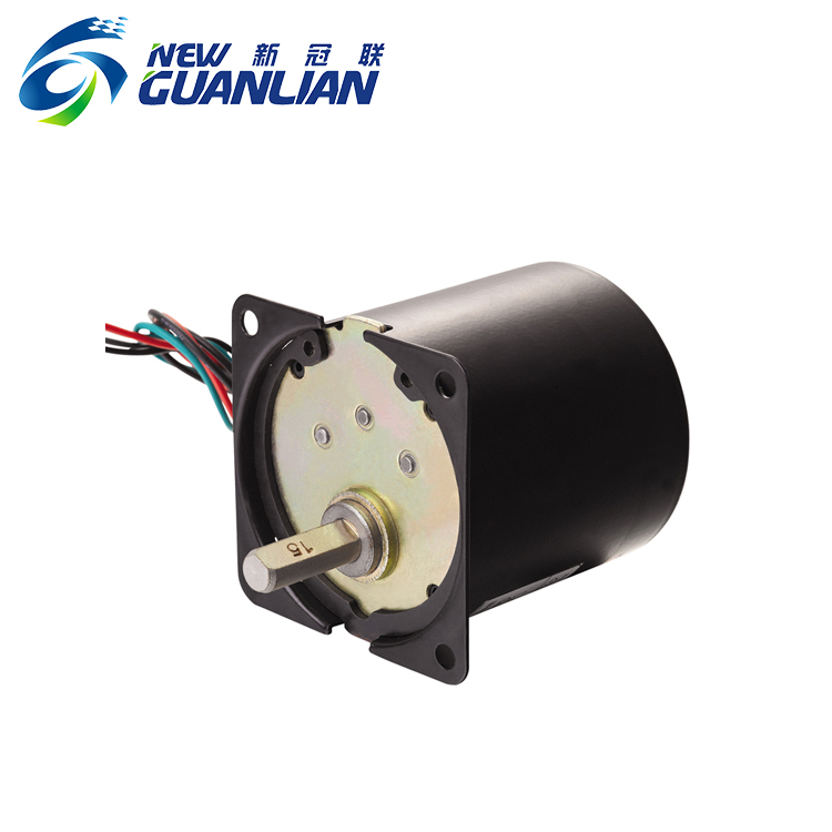 17w Dia 60mm low high torque rpm permanent magnet synchronous ac motor
