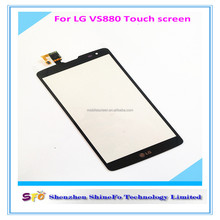 Front glass for LG G Vista D631 VS880 touch lens For LG G Vista VS880 touch screen Verizon