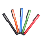 Promotional Oxidative wire drawing Black Trims Aluminum Ball Pen AL-17001L